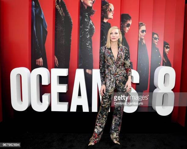 Cate Blancett attends 'Ocean's 8' World Premiere at Alice Tully Hall on June 5 2018 in New York City