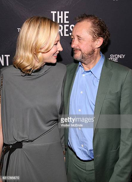 Cate Blanchett and Andrew Upton attend the Broadway Opening Night After Party for 'The Present' at the Bryant Park Grill on January 8 2017 in New...