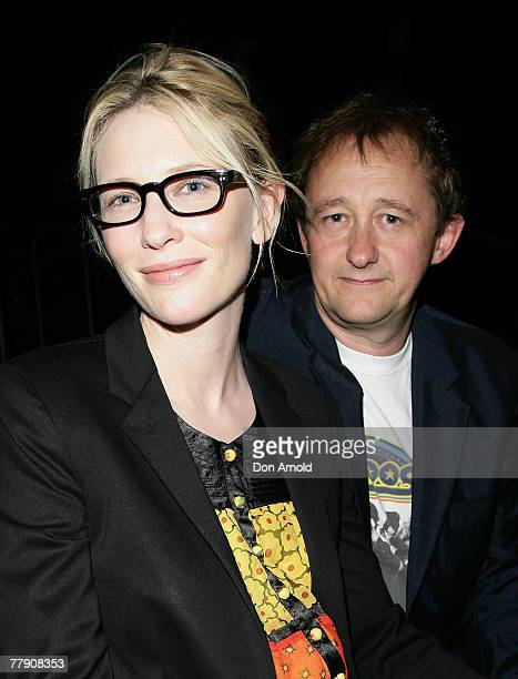 Cate Blanchett and Andrew Upton attend the premiere of `Toy Symphony' at the Belvoir St Theatre on November 14 2007 in Sydney Australia