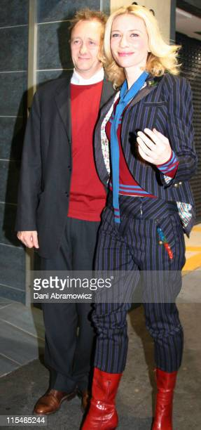 Cate Blanchett and Andrew Upton during Cate Blanchett Sighting at UIP at UIP in Sydney New South Wales Australia