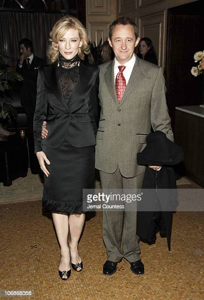 Cate Blanchett and Andrew Upton during Private Dinner in Honor of Cate Blanchett Celebrating the Sydney Theatre Company Production of Hedda Gabler at...