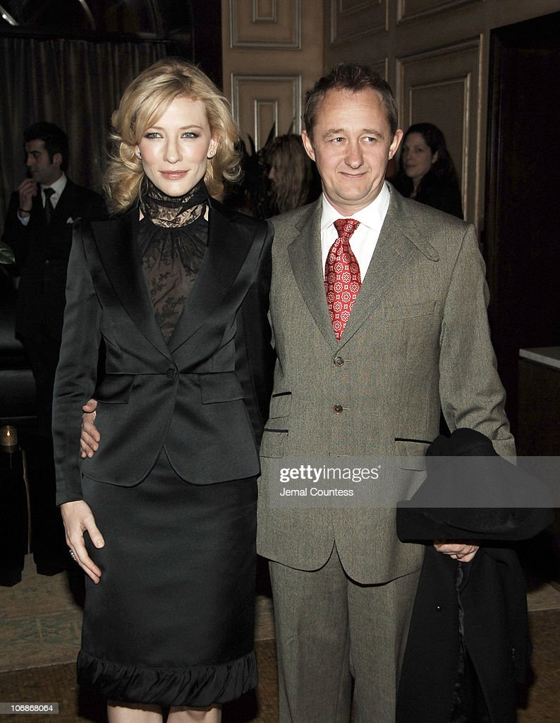 """Private Dinner in Honor of Cate Blanchett Celebrating the Sydney Theatre Company Production of """"Hedda Gabler"""" at Brooklyn Acade : News Photo"""