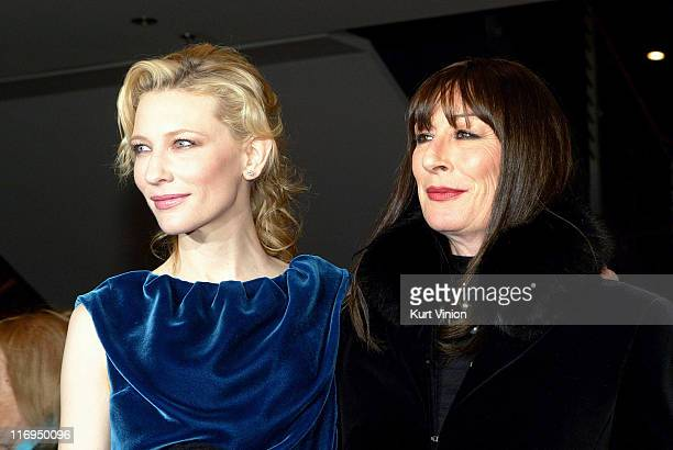 Cate Blanchett and Anjelica Huston during 55th Berlin International Film Festival 'The Life Aquatic with Steve Zissou' Premiere at Berlin in Berlin...