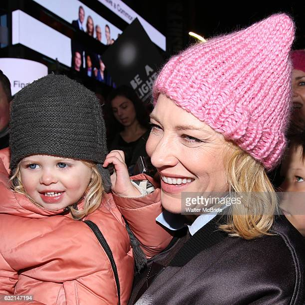 Cate Blanchett and family attend The Ghostlight Project to light a light and make a pledge to stand for and protect the values of inclusion,...
