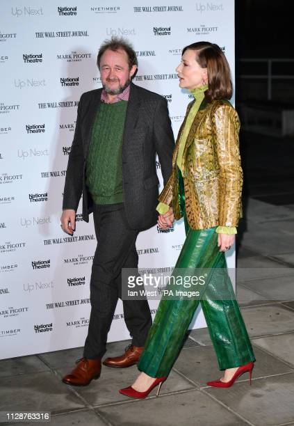 Cate Blanchett and husband Andrew Upton attending the Up Next Gala held at the National Theatre South Bank London