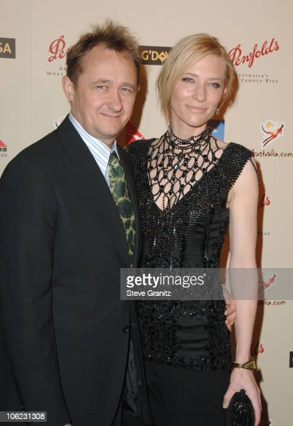 Cate Blanchett and husband Andrew Upton during 2007 Australia Week Gala Arrivals in Los Angeles California United States