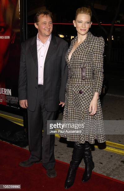 Cate Blanchett and husband Andrew Upton during Los Angeles Premiere of Veronica Guerin at The Bruin Theatre in Westwood California United States