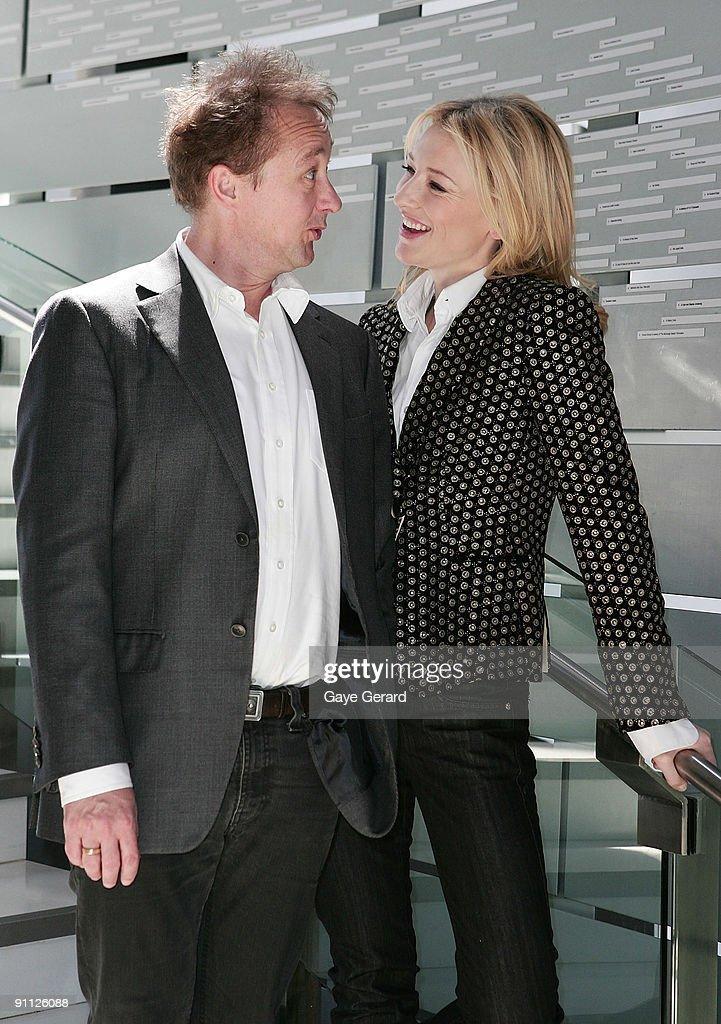 Cate Blanchett & Andrew Upton Launch Sydney Theatre's New Season : News Photo
