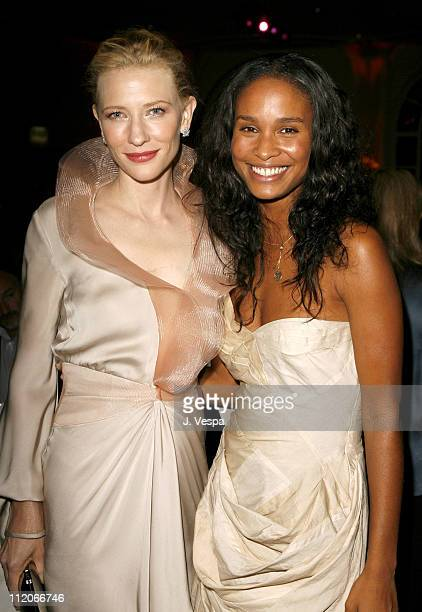 Cate Blanchett and Joy Bryant during 13th Annual Premiere Women in Hollywood Inside at Beverly Hills Hotel in Beverly Hills California United States