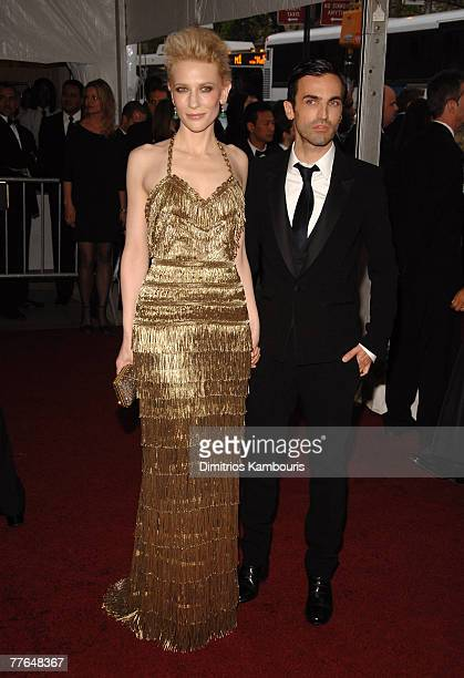 Cate Blanchett and Nicolas Ghesquiere