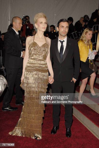 Cate Blanchett and Nicolas Ghesquire