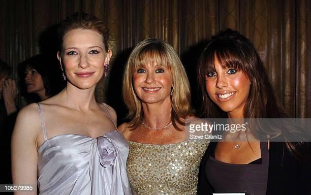 Cate Blanchett and Olivia Newton John and Daughter Chloe Lattanzi