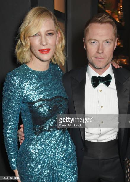 Cate Blanchett and Ronan Keating attend the IWC Schaffhausen Gala celebrating the Maison's 150th anniversary and the launch of its Jubilee Collection...
