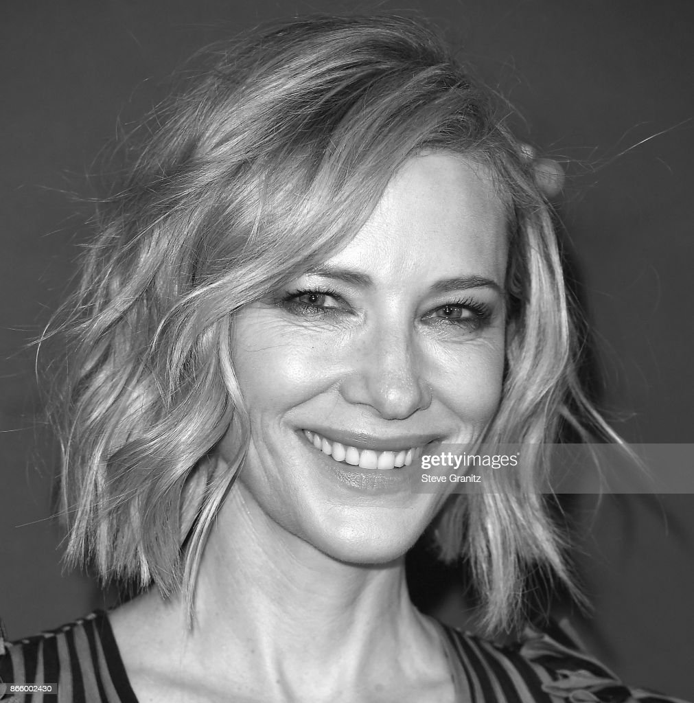 Cate Blanchett arrive at the 3rd Annual InStyle Awards at The Getty Center on October 23, 2017 in Los Angeles, California.