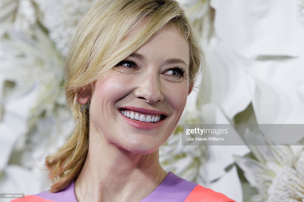 Cate Blanchett arrives at the Australian premiere of Disney's Cinderella at the State Theatre on March 15, 2015 in Sydney, Australia.