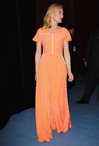 Risultati immagini per Cate Blanchett in arancione