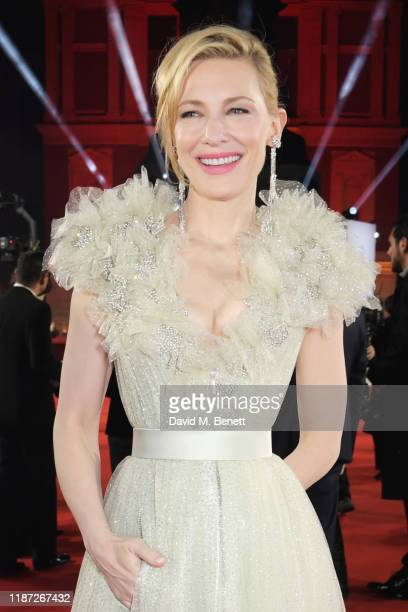 Cate Blanchett arrives at The Fashion Awards 2019 held at Royal Albert Hall on December 2 2019 in London England