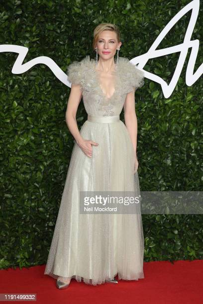 Cate Blanchett arrives at The Fashion Awards 2019 held at Royal Albert Hall on December 02 2019 in London England