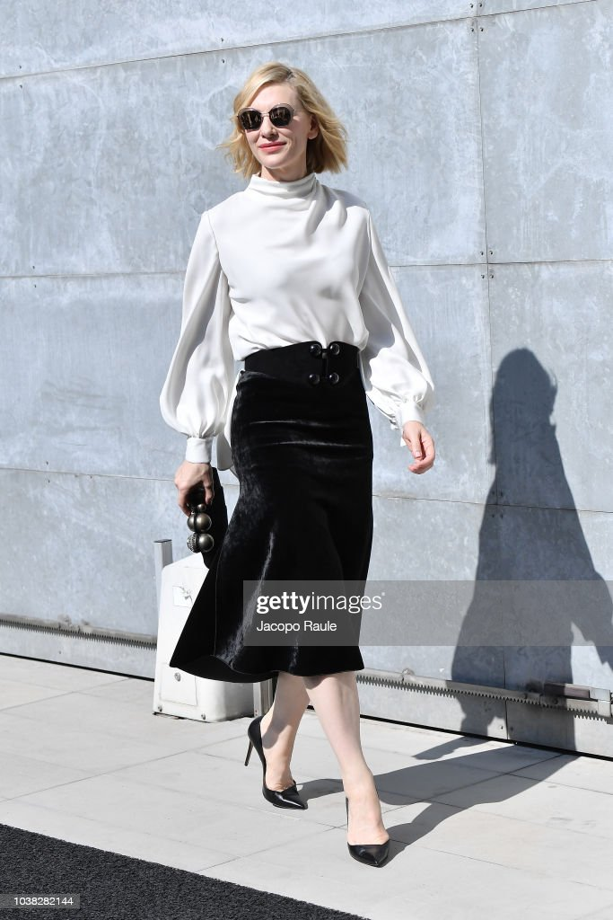 Giorgio Armani - Arrivals - Milan Fashion Week Spring/Summer 2019