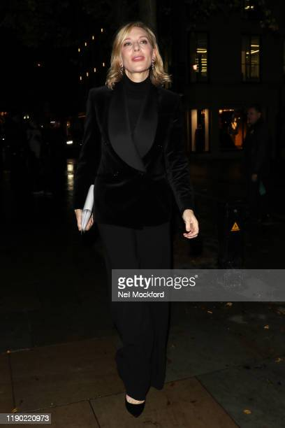 Cate Blanchett arriving at the Fayre of St James Christmas Carol Concert at St James's Church Piccadilly on November 26, 2019 in London, England.
