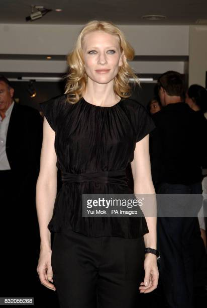 Cate Blanchett arriving for the UK premiere of Little Fish, at the Curzon Soho, central London.Sam Neill and his step-daughter Maiko arrive for the...