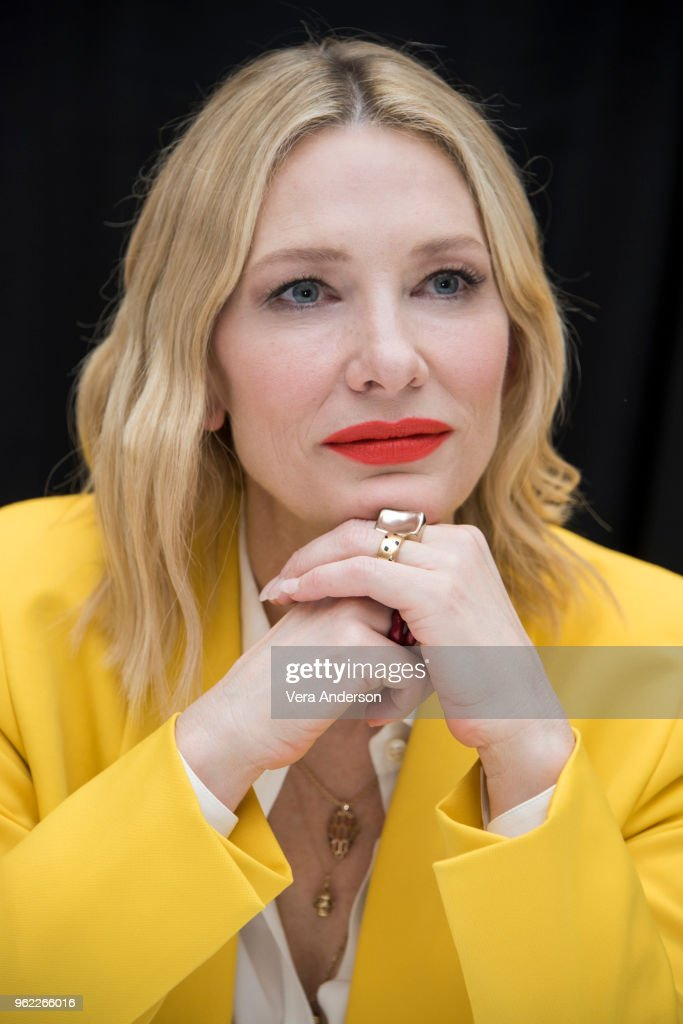 """""""Ocean's 8"""" Press Conference : News Photo"""