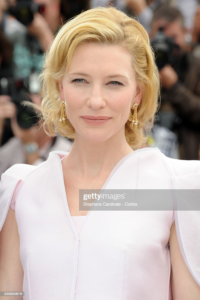 Cate Blanchett at the photocall for ?Robin Hood? during the 63rd Cannes International Film Festival.