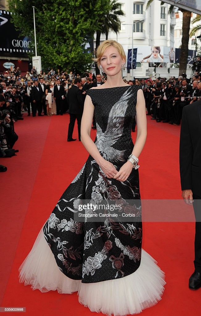 Cate Blanchett at the premiere of ?Robin Hood? during the 63rd Cannes International Film Festival.