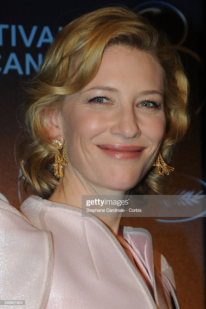 Cate Blanchett at the press conference for ?Robin Hood? during the 63rd Cannes International Film Festival.