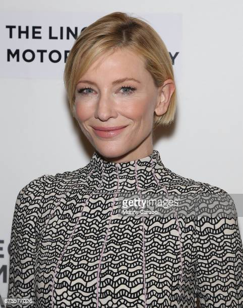 Cate Blanchett attends 2017 Tribeca Film Festival 'Manifesto' at Spring Studios on April 26 2017 in New York City