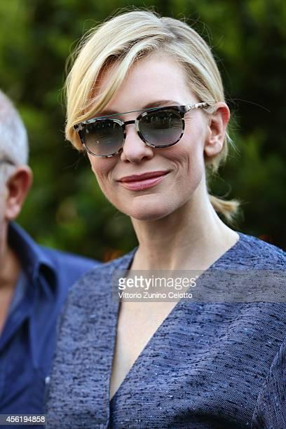 Cate Blanchett attends IWC Photo Exhibition Opening during Day 3 of Zurich Film Festival 2014 on September 27 2014 in Zurich Switzerland