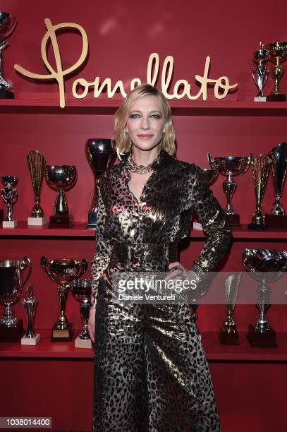 Jane and Grace Balzarini attend launch of Pomellato Balera Party Event on September 22 2018 in Milan Italy