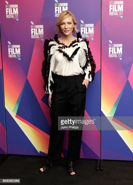 Cate Blanchett attends LFF Connects at the 61st BFI London Film Festival on October 6 2017 in London England