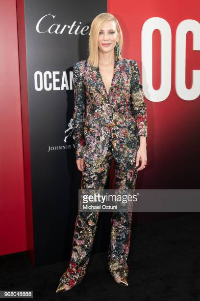 Cate Blanchett attends 'Ocean's 8' World Premiere at Alice Tully Hall on June 5 2018 in New York City