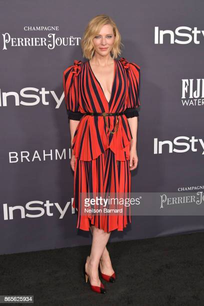 Cate Blanchett attends the 3rd Annual InStyle Awards at The Getty Center on October 23 2017 in Los Angeles California