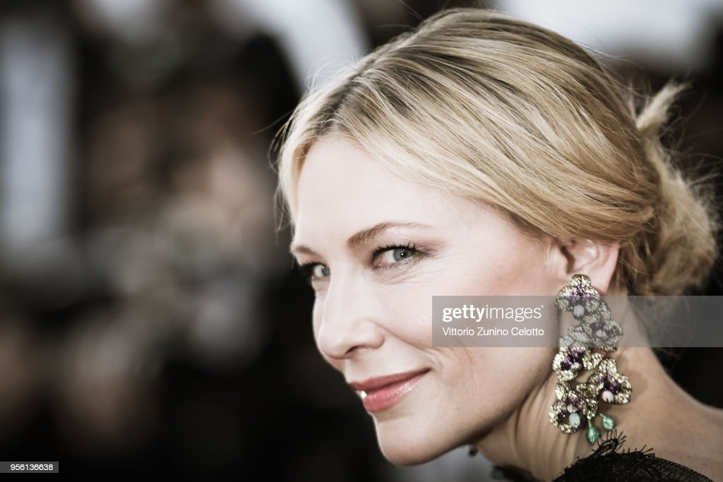 Cate Blanchett attends the 71st annual Cannes Film Festival at Palais des Festivals on May 8, 2018 in Cannes, France.