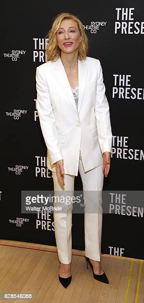 Cate Blanchett attends the Broadway cast photocall for 'The Present' at The New 42nd Street Studios on December 8 2016 in New York City