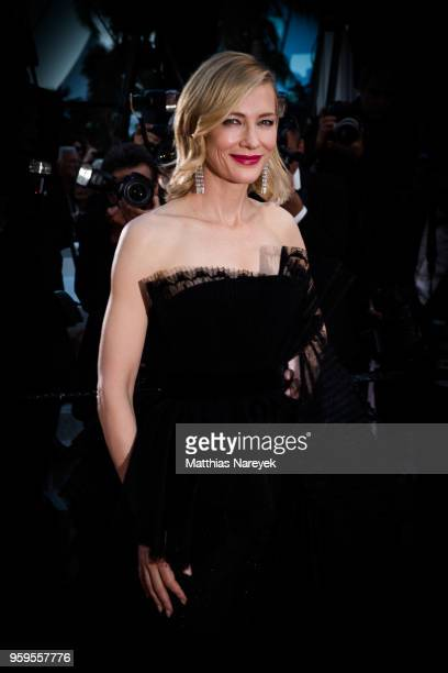 Cate Blanchett attends the Capharnaum Premiere during the 71st annual Cannes Film Festival at on May 17, 2018 in Cannes, France.