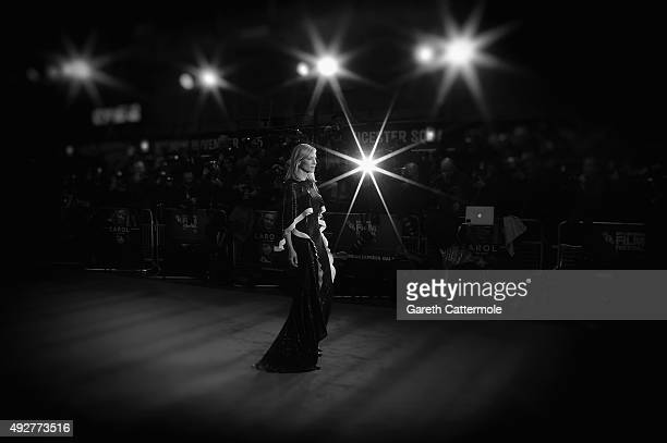 Cate Blanchett attends the 'Carol' American Express Gala during the BFI London Film Festival at the Odeon Leicester Square on October 14 2015 in...