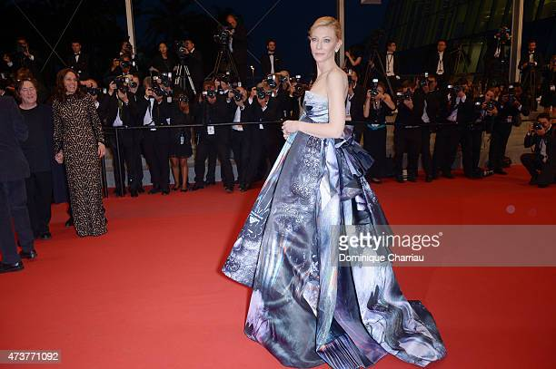 """Cate Blanchett attends the """"Carol"""" Premiere during the 68th annual Cannes Film Festival on May 17, 2015 in Cannes, France."""