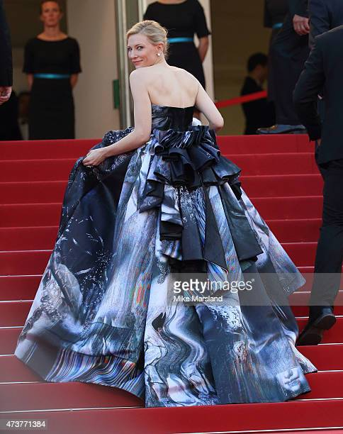Cate Blanchett attends the Carol Premiere during the 68th annual Cannes Film Festival on May 17 2015 in Cannes France