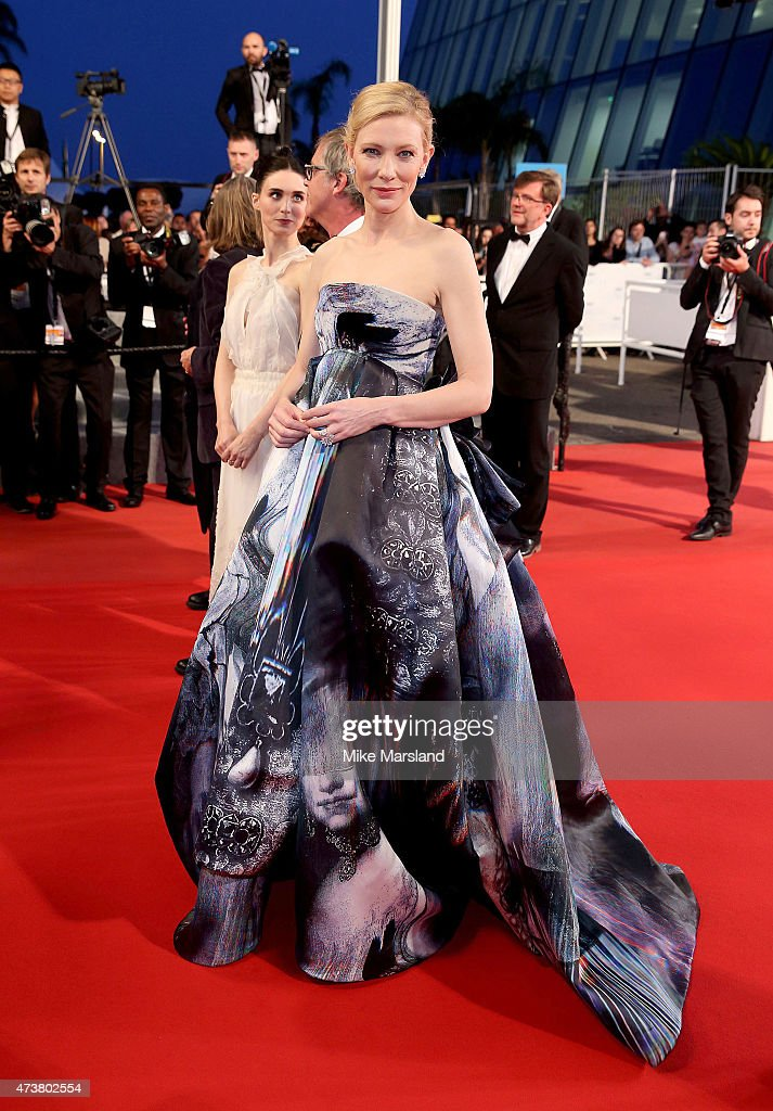 Cate Blanchett attends the 'Carol' Premiere during the 68th annual Cannes Film Festival on May 17, 2015 in Cannes, France.