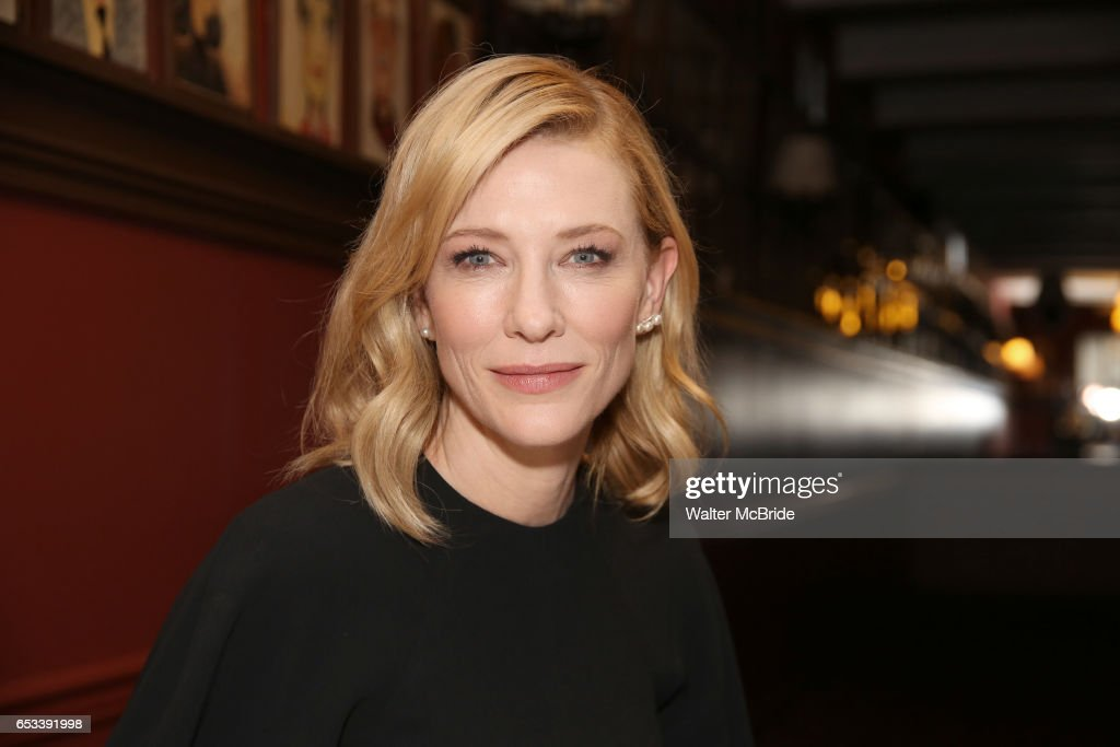 Cate Blanchett's And Richard Roxburgh's Sardi's Portraits Unveiling
