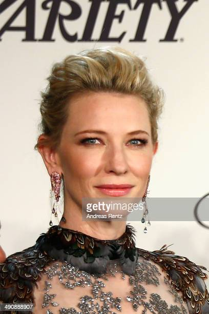 Cate Blanchett attends the Chopard Trophy during the 67th Annual Cannes Film Festival on May 15, 2014 in Cannes, France.