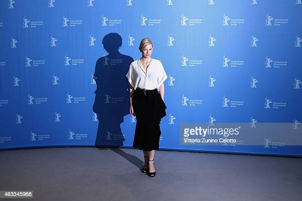 Cate Blanchett attends the 'Cinderella' photocall during the 65th Berlinale International Film Festival at Grand Hyatt Hotel on February 13 2015 in...