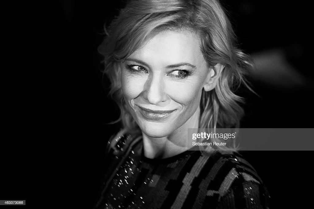 Cate Blanchett attends the 'Cinderella' premiere during the 65th Berlinale International Film Festival at Berlinale Palace on February 10, 2015 in Berlin, Germany.