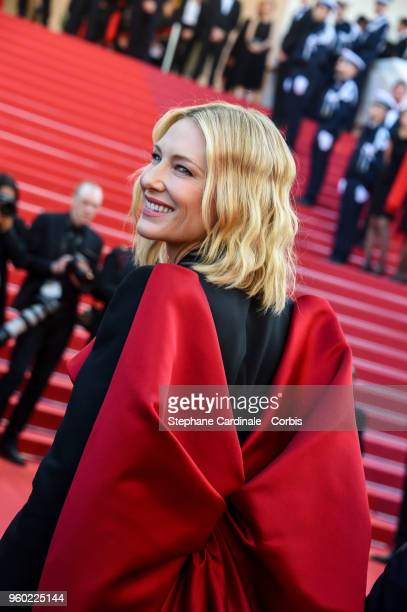 Cate Blanchett attends the Closing Ceremony and the screening of 'The Man Who Killed Don Quixote' during the 71st annual Cannes Film Festival at...