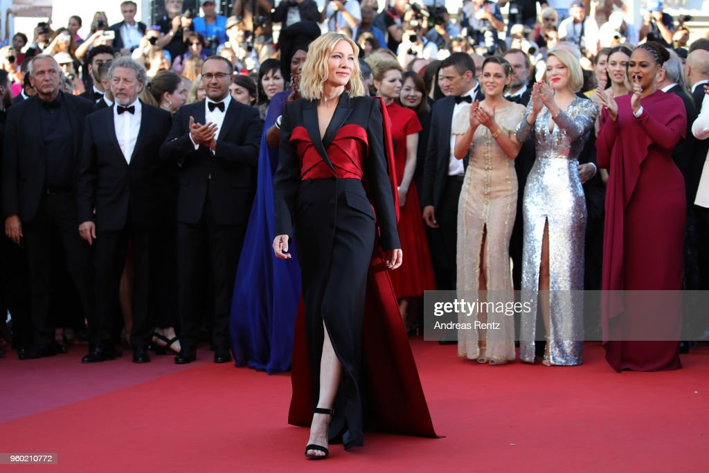 IN FOCUS: Cate Blanchett Fashion Journey Through The 71st Cannes Film Festival