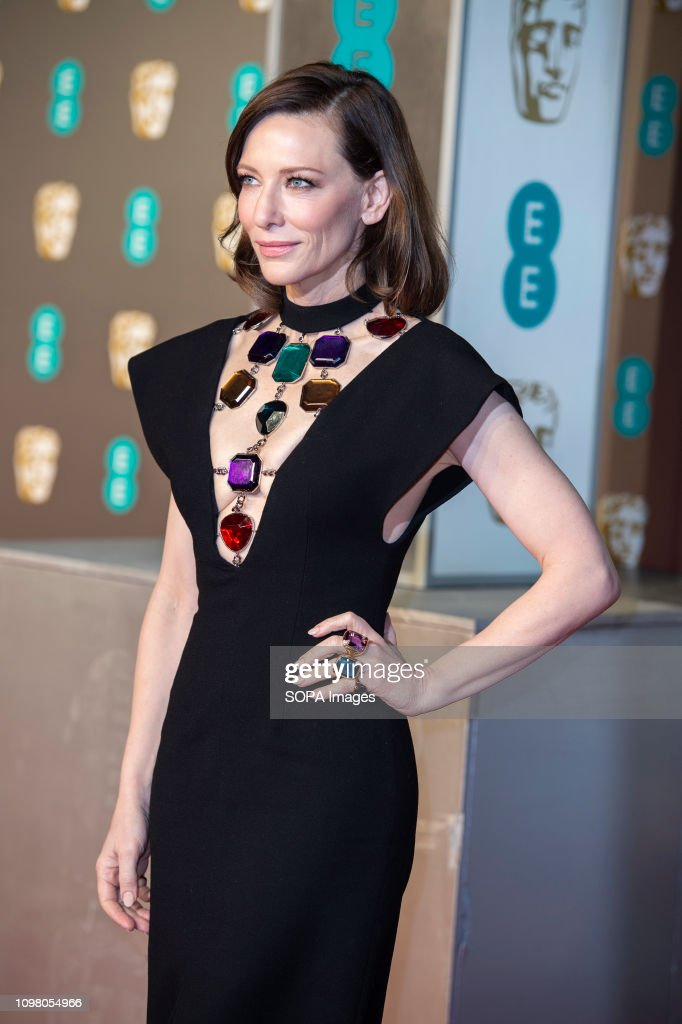 Cate Blanchett attends the EE British Academy Film Awards at... : News Photo