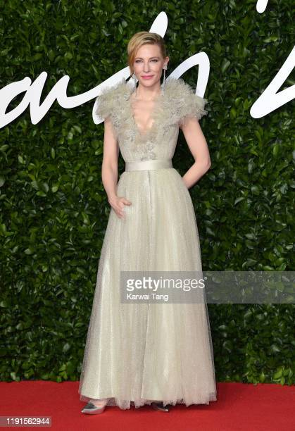 Cate Blanchett attends The Fashion Awards 2019 at the Royal Albert Hall on December 02, 2019 in London, England.